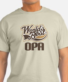 Worlds Best Opa T-Shirt