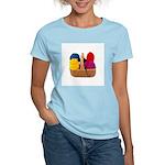 Yarn Basket - Colorful Yarn Women's Light T-Shirt