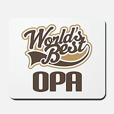 Worlds Best Opa Mousepad