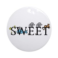 Sweet Ornament (Round)