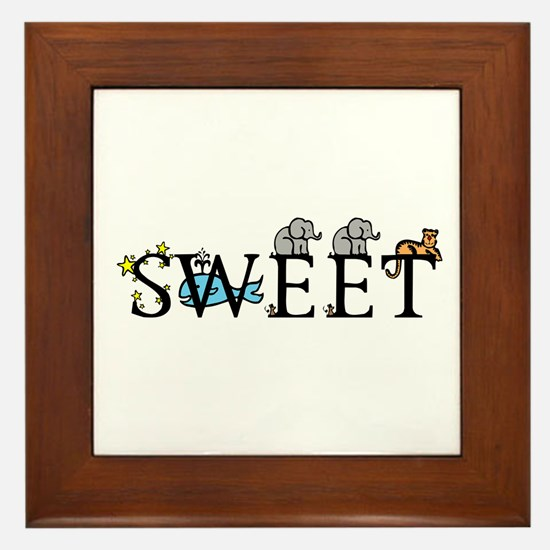 Sweet Framed Tile