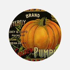 """Vintage Fruit Crate Label 3.5"""" Button"""