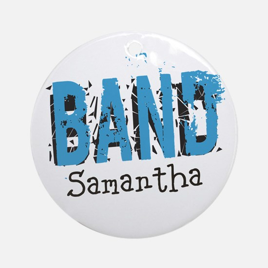 CUSTOMIZE Band Ornament (Round)