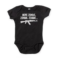Here Zombie Zombie Zombie Baby Bodysuit