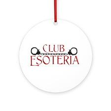 Club Esoteria Logo Ornament (Round)