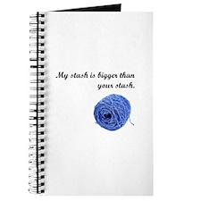 My Yarn Stash is Bigger Journal