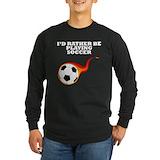 Soccer Long Sleeve T Shirts
