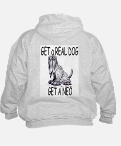 Real Dogs Come with Saddles Hoodie