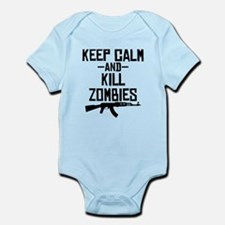 Keep Calm And Kill Zombies Body Suit