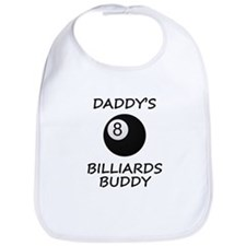 Daddys Billiards Buddy Bib