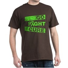 Non-Hodgkins Lymphoma Go Fight Cure T-Shirt