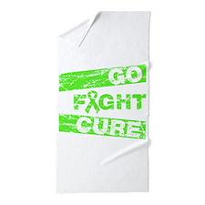 Non-Hodgkins Lymphoma Go Fight Cure Beach Towel