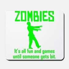 Zombies Mousepad