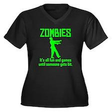 Zombies Plus Size T-Shirt