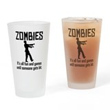 All  zombies Pint Glasses