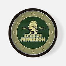 State of Jefferson - Since 1941 Wall Clock