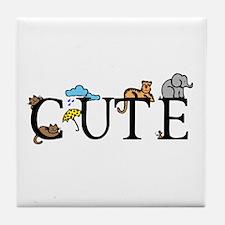 Cute Tile Coaster