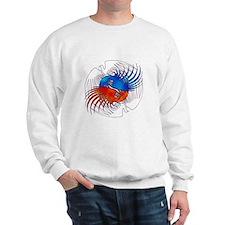 FIre and Ice Phoenixes Sweatshirt