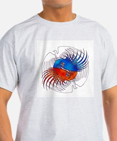FIre and Ice Phoenixes T-Shirt