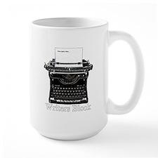 Writers Block-Typewriter Mugs