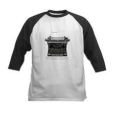 Writers Block-Typewriter Baseball Jersey