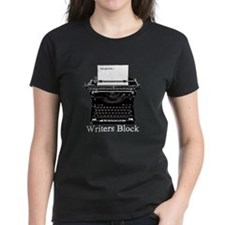 Writers Block-Typewriter T-Shirt
