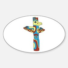 Alaskan Totem Pole Decal