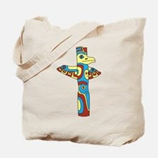Alaskan Totem Pole Tote Bag