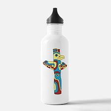 Alaskan Totem Pole Water Bottle