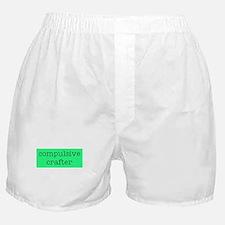 Compulsive Crafter Boxer Shorts