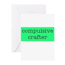 Compulsive Crafter Greeting Cards (Pk of 10)