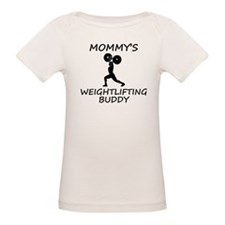 Mommys Weightlifting Buddy T-Shirt