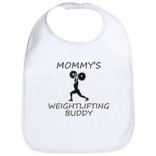 Mommys Weightlifting Buddy Bib