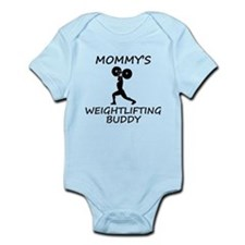 Mommys Weightlifting Buddy Body Suit