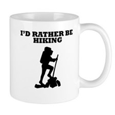Id Rather Be Hiking Mugs