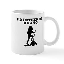 Id Rather Be Hiking Mugs