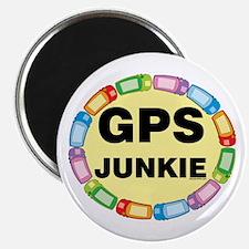 GPS Junkie Magnet