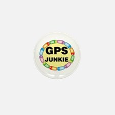 GPS Junkie Mini Button (10 pack)
