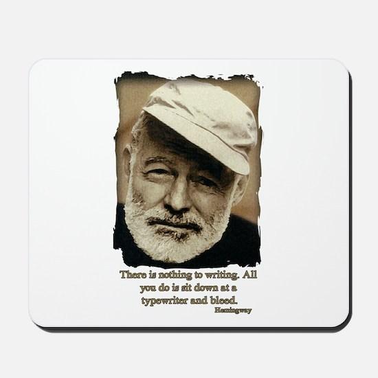Hemingway3-Bleed Mousepad