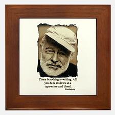 Hemingway3-Bleed Framed Tile
