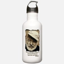Hemingway3-Bleed Water Bottle