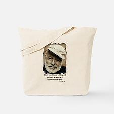 Hemingway3-Bleed Tote Bag