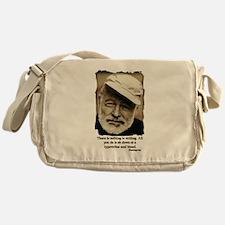 Hemingway3-Bleed Messenger Bag