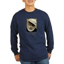 Hemingway3-Bleed Long Sleeve T-Shirt