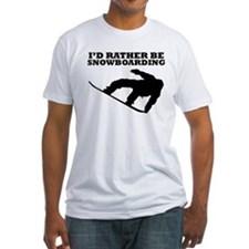 Id Rather Be Snowboarding T-Shirt