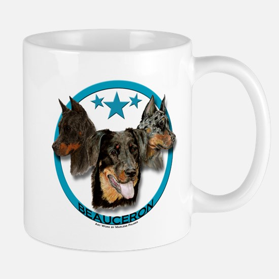 Beauceron - Three Heads are Better Than One Mugs