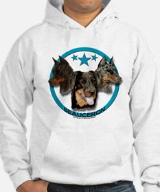 Beauceron - Three Heads are Better Than One Hoodie