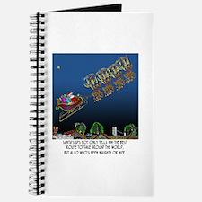 Santa's GPS Journal