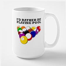 Id Rather Be Playing Pool Mugs
