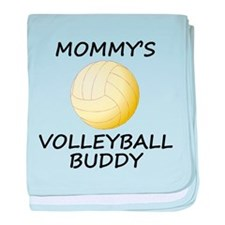 Mommys Volleyball Buddy baby blanket
